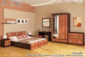 Спальный гарнитур Эллада - Мебельная фабрика «Дара»