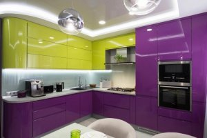 Кухня Эмаль глянец - Мебельная фабрика «Элна»