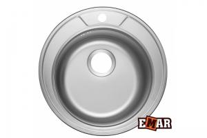 EMAR 490 decor врезная мойка - Оптовый поставщик комплектующих «Емар»