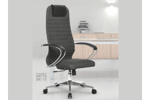 Эргономичное кресло МЕТТА ВК-10 в обивочной ткани - Мебельная фабрика «МЕТТА»