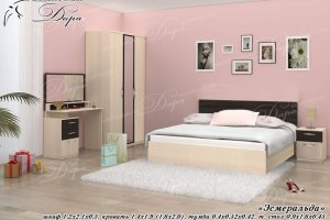 Спальня Эсмеральда - Мебельная фабрика «Дара»