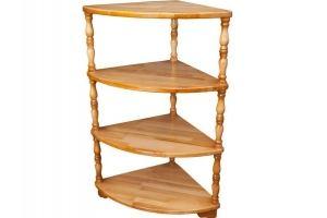 Этажерка угловая - Мебельная фабрика «Упоровская мебельная фабрика»
