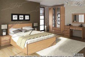 Спальный гарнитур Эвита - Мебельная фабрика «Дара»