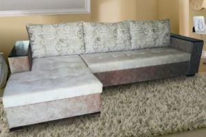 Евро угол диван с большой оттоманкой - Мебельная фабрика «Викс»