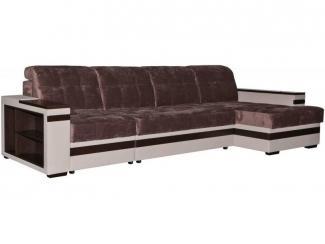 Тканевый угловой диван с полками Матисс  - Мебельная фабрика «Пинскдрев»