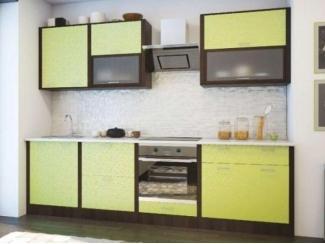 Кухня в цвете лайм 2.6 м - Мебельная фабрика «Кухни Заречного»