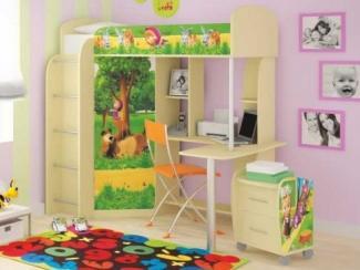 Детская комбинированная Маша и медведь - Мебельная фабрика «Ивушка»