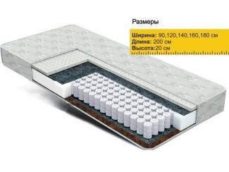 Матрас Независимые пружины латекс+кокос  - Мебельная фабрика «Боровичи-Мебель»