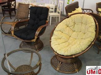 Мебельная выставка Краснодар: Плетеные кресла