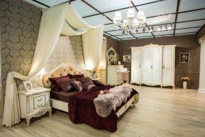 Спальня Барокко - Мебельная фабрика «Мебель Черноземья», г. Воронеж