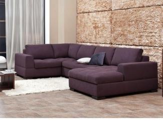 Угловой диван с оттоманкой - Мебельная фабрика «POBEDA.»