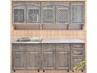 Кухня прямая 64 - Мебельная фабрика «Трио мебель»