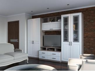Гостиная белая Аллегро - Мебельная фабрика «Кентавр 2000»