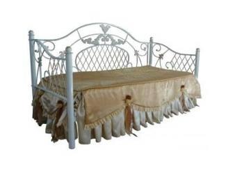 Пристенная кровать Анжелика 3 - Мебельная фабрика «Металл конструкция» г. Майкоп
