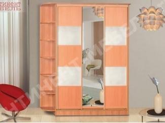 Шкаф-купе 1 с полками - Мебельная фабрика «Континент-мебель»