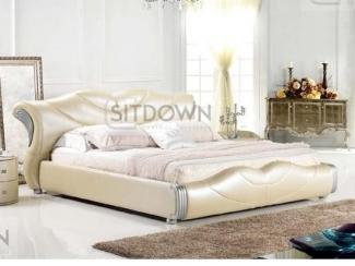 Кожаная кровать Камилла - Мебельная фабрика «Sitdown»