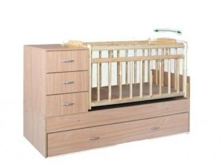 Кровать Малыш-8 - Мебельная фабрика «КорпусМебель»