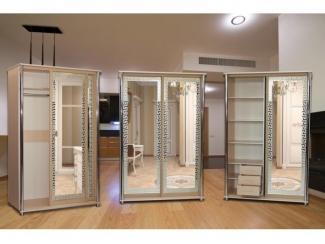 Шкаф Идеал дуб молочный  - Мебельная фабрика «Кубань-мебель»