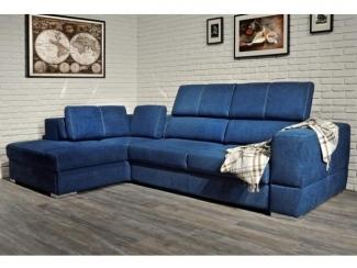 Синий диван Палермо - Мебельная фабрика «Андреа»