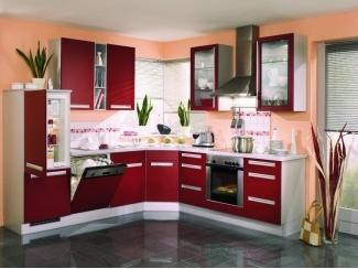 Кухня пластик Arpa (бордо) - Мебельная фабрика «Ренессанс»