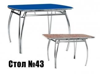 Стол обеденный 43 - Мебельная фабрика «Максимум-хром»