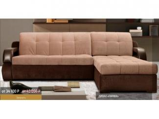 Тканевый угловой диван Париж  - Мебельная фабрика «Паллада», г. Кирово-Чепецк