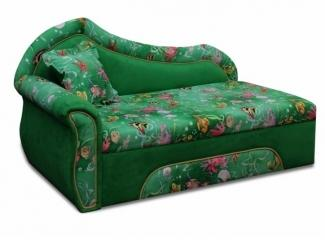 Детский зеленый диван Катюша 2  - Мебельная фабрика «Катюша», г. Краснодар