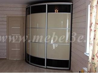 Трёхдверный радиусный шкаф - Мебельная фабрика «ТРИ-е»