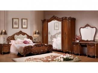 Спальня Эльза Орех  - Мебельная фабрика «Слониммебель»