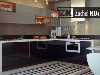 Кухонный гарнитур угловой Йена Грэй - Мебельная фабрика «Zuchel Kuche (Германия-Белоруссия)»