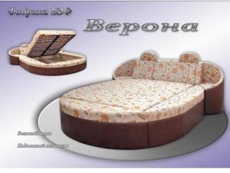 Кровать круглая Верона - Мебельная фабрика «ВЭФ»