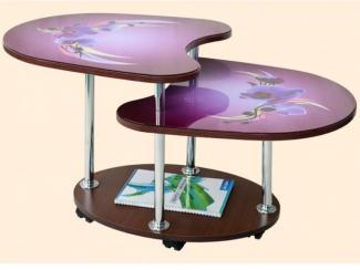 Стол журнальный 8 фотопечать - Мебельная фабрика «ВиТа-мебель»