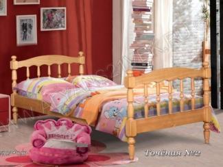 Детская кровать Точеная 2 - Мебельная фабрика «Альянс 21 век»