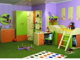 детская Фруттис (комплектация 1) - Мебельная фабрика «Любимый дом (Алмаз)»