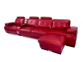 Красный диван Бристоль - Мебельная фабрика «Добрый стиль»