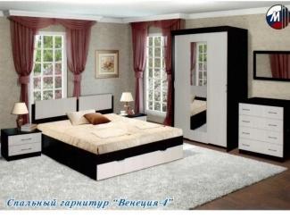 Спальный гарнитур Венеция 4 - Мебельная фабрика «Грааль»