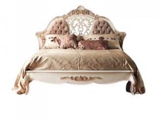 Кровать с резьбой - Импортёр мебели «Spazio Casa»
