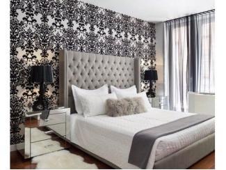 Кровать с мягким высоким изголовьем - Мебельная фабрика «Furniture Design»