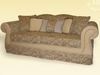 Диван прямой «Богемия в огурцах» - Изготовление мебели на заказ «1-я мебельная компания», г. Нижний Новгород