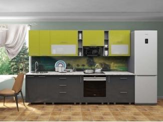 Кухня прямая Марта Олива Серый