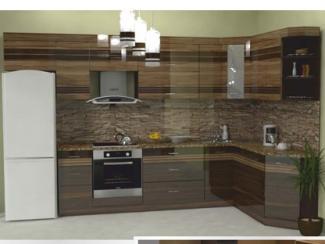 Кухня угловая Фотопечать 02 - Мебельная фабрика «Форт»