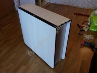 Стол-книжка в белом цвете  - Изготовление мебели на заказ «Игал»