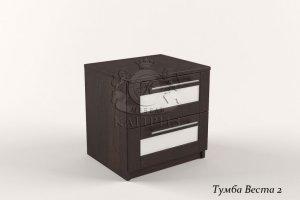 Прикроватная тумба Веста 2 В-29 - Мебельная фабрика «Каприз»