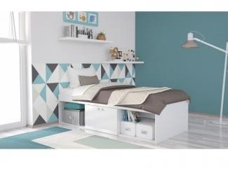 Кровать подростковая  - Мебельная фабрика «Воткинская промышленная компания»