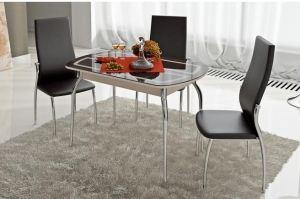 Стол стеклянный «Милан» - Мебельная фабрика «ТриЯ»
