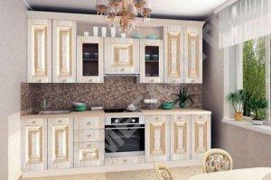 Кухня Моника с патиной - Мебельная фабрика «Мега Сити-Р»