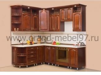 Кухня массив 09 - Мебельная фабрика «Гранд Мебель»