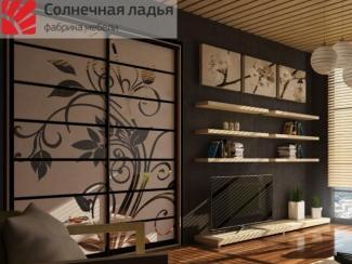 Шкаф - купе для гостиной 3 - Мебельная фабрика «Солнечная ладья»