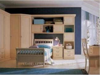 Детская с угловым шкафом модель 1044 - Мебельная фабрика «ЛюксБелМебель»
