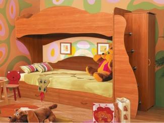Детская 2х-ярусная кровать Командор-3 - Мебельная фабрика «Аристократ»